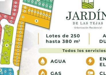 JARDIN DE LAS TEJAS - Lotes APTO DÚPLEX - EXCELENTES!!!!